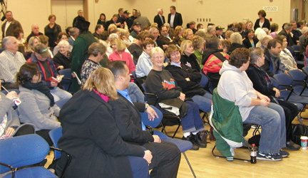 Candidate forum audience